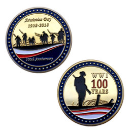 $enCountryForm.capitalKeyWord Australia - GLSY New Arrival Commemorative Coins Armistice Day 1918-2018 WW1 100Years Design Collection Art Gifts Free Shipping