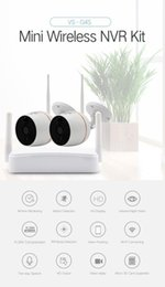 Video cctV online shopping - YobangSecurity Home Video Audio Outdoor IP Camera P Wifi Mini CH NVR Kit Wireless CCTV Security Surveillance Camera System