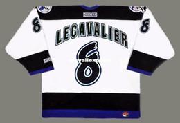 $enCountryForm.capitalKeyWord Australia - custom Mens VINCENT LECAVALIER Tampa Bay Lightning 1998 CCM Jerseys Home Cheap Retro Hockey Jersey
