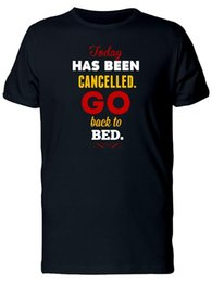 China Go Bed, Today Has Been Cancelled Men's Tee -Image by Shutterstock suppliers