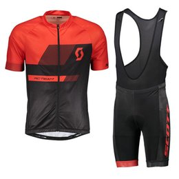 $enCountryForm.capitalKeyWord UK - SCOTT team Cycling Short Sleeves jersey bib shorts sets Wear Summer style Breathable quick-dry Bicycle Clothes shorts sets 02479