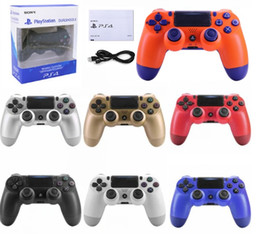 Station Wireless Controllers Australia - Bluetooth Wireless PS4 Controller for PS4 Vibration Joystick Gamepad PS4 Game Controller for Sony Play Station Without Packaging