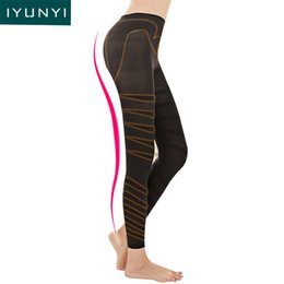 Wholesale Women Legs Shaping Panties Hip Up Ladies Compression Butt Lifter Long Pants Women Thigh Slimming Calf Shapers Shapewear