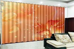 $enCountryForm.capitalKeyWord NZ - Wholesale 3d Curtain Window Fantasy Golden Calla 3d Flower Curtain Interior Decoration Beautiful and Elegant HD Curtain