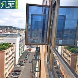 $enCountryForm.capitalKeyWord Australia - Fancy-fix Privacy Window Film Heat Control One Way Solar Window Film Stained Glass Foil Sticker,reflective Vinyl Mirror Film T190704
