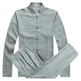 Chinese Traditional Shirts For Men Australia - Traditional Chinese Clothing For Men Kung Fu Clothes Cheongsam Shanghai Tang Suit Kungfu Store Men's Oriental Shirts Vintage Man