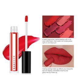 $enCountryForm.capitalKeyWord Australia - Waterproof Vivid Lipgloss Sexy Women Glitter Liquid Makeup Colorful Moist Lip Gloss Nude Glitter Shimmer Lipstick W0717