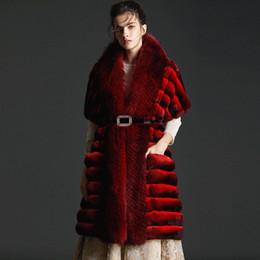$enCountryForm.capitalKeyWord Australia - Chinchilla fox collars SJU fur shawls long fur coat designer necessary original party