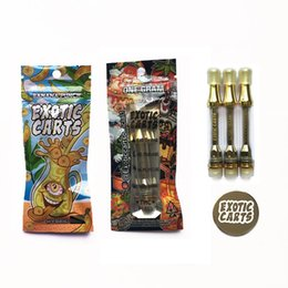 $enCountryForm.capitalKeyWord UK - New carving Exotic carts with holograms Mario carts with cartridges not leak AC1003 gold 1.0ml ceramic coil 52 flavor for option