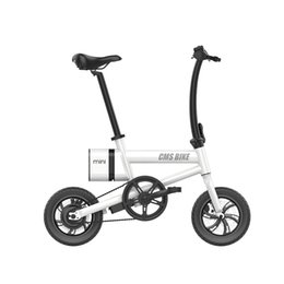 folding bike 12 inch NZ - 12 inch carbon steel folding electric bike 36v 250w foldable e-bike high quality and cheap price electric bicycles