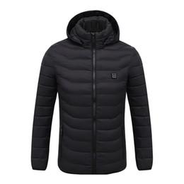$enCountryForm.capitalKeyWord Australia - Men's Fleece Jackets Waterproof Winter Heated Jackets Thermal Heating Clothing Skiing Coat Men Hiking Jacket S-4XL 2Colors