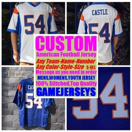 Football American Australia - Customized american Football jerseys college cheap authentic vapor untouchable sports jersey stitched mens woman youth kids 4xl 5xl 6xl 7xl