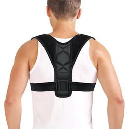 5d3793de2642f Mounchain back protective Back Posture Corrector Clavicle Spine Shoulder  Lumbar Brace Support Belt Posture Correction