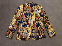 $enCountryForm.capitalKeyWord Australia - retro print color paisley tuxedo British style evening dress shawl lapel custom men's west decoration suit jacket men's suit