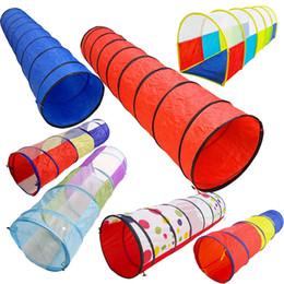 Venta al por mayor de Venta caliente Juguetes para niños Túnel de arrastre Niños Tubo de juguete de interior al aire libre Jugar juegos de rastreo Niños Chicas Mejor regalo de cumpleaños