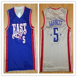 9bd501f8dacc 2019 new High Quality 5 Kevin 5 Garnett 2008 East All Star Mens Basketball  Jersey Custom any name and number all size