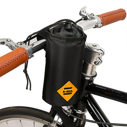cycle water bottle holder 2019 - 1 Pcs Insulation Cycling Kettle Holder Poush Bag Bicycle Front Handlebar Hanging Water Bottle Bag Bike Accessory cheap c