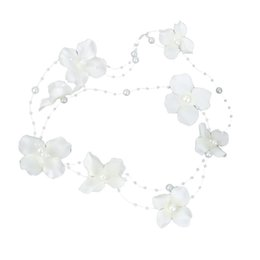 $enCountryForm.capitalKeyWord Australia - Wedding Bridal Headwear Pearl Fabric Flower Hair Clip
