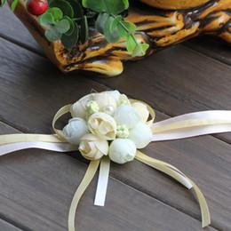 $enCountryForm.capitalKeyWord Australia - wedding favors wedding decorations Wrist Flower Prom Corsage Bridal Hand Flowers Party Decorations