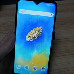 pro chinese cameras 2019 - High quality 6.5 inch water drop screen Cheap Mate20 Pro Smartphone MTK6580P Quad Core 1GB+4G Mobile Phone 3000mAh Capac