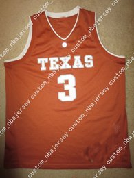Cheap custom Texas Longhorns  3 Basketball Team Jersey Stitched Customize  any number name MEN WOMEN YOUTH XS-5XL f4e86edd8