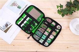$enCountryForm.capitalKeyWord NZ - Travel Gear Organizer Electronics Accessories Bag, Small Gadget Carry Case Storage Bag Pouch for Charger USB Cables SD Memory Cards Earphone
