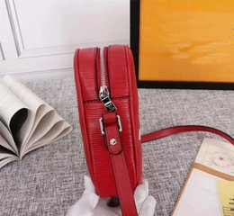 genuine leather crossbody handbags wholesale Canada - DEluxe handbags Fashion Water ripple Leather Shoulder Bag camera bag postman bag Crossbody Bags for Messenger Bags M53434 purse Unisex