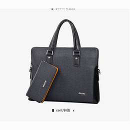 chinese cross bags UK - Charm2019 Autumn And Winter Package Cross Section Handbag Male Business Affairs Briefcase Man Bag Oblique Satchel Welcome Down Single