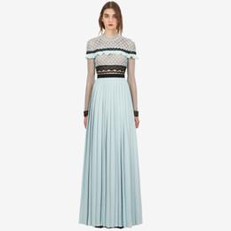 $enCountryForm.capitalKeyWord UK - Best Quality Series,bridesmaid Long Dress Sky Blue High Waist Elegant Split Wedding Party Prom Dinner Cocktail Women Dresses 2908