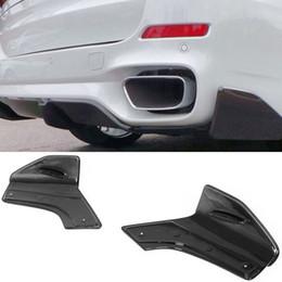 $enCountryForm.capitalKeyWord Australia - Carbon fiber Rear Lip Splitter Rear Side Valences Fit For BMW F15 X5 M-Sport