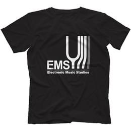 $enCountryForm.capitalKeyWord UK - Electronic Music Studios T-Shirt 100% Cotton Synthi Aks Ems Retro Synth VCS3 2019 Summer New Fashion Brand Tshirt Solid Color