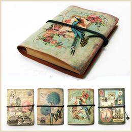 $enCountryForm.capitalKeyWord Australia - Vintage Stationery Pu Leather Notebook Creative Kraft Paper Planner Sketchbook Agenda Filofax Travelers Diary Journal Notebooks