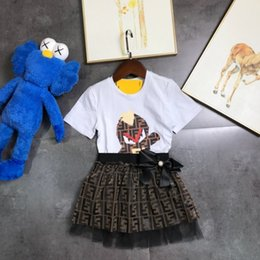 Designs Girls Shirts New Australia - Girls new wild ice silk cotton T-shirt can be arbitrarily matched pleated design upper body burst
