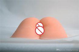 $enCountryForm.capitalKeyWord NZ - Super Realistic Big Ass Dolls Fat Vagina Anal Channel Artificial Pocket Pussy Male Masturbators Adult Masturbation Erotic Sex Toy For Men