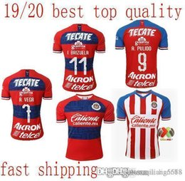free dhl jersey 2019 - best quality in stock Chivas Jersey Soccer Jersey Liga MX 20 Home Away chivas de guadalajara A.VEGA Top Quality More 10p