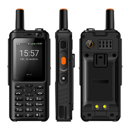 Alpes F40 Zello Walkie Talkie Telefone Móvel IP65 À Prova D 'Água Robusto Smartphone MTK6737M Quad Core Teclado Android Feature Telefone
