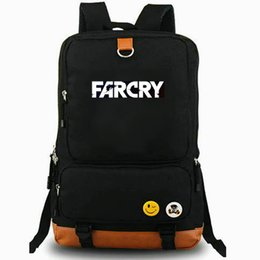 coolest backpacks NZ - Island backpack Far Cry Ubisoft daypack Cool game schoolbag Leisure rucksack Sport school bag Outdoor day pack