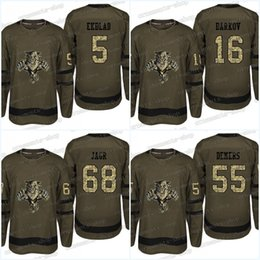 $enCountryForm.capitalKeyWord UK - Camouflage Florida Panthers Jersey 68 Jaromir Jagr 55 Jason Demers 21 Vincent Trocheck 16 Aleksander Barkov Army Green Hockey Jerseys