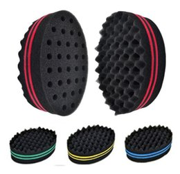 $enCountryForm.capitalKeyWord Australia - Practical Wave Barber Sponge Hair Brush For Dreads Afro Locs Twist Curl Coil Hair