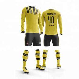 07e582652 Custom made your team design plain soccer shirt Tops Uniform FootBall  Jerseys Breathable maker football jersey