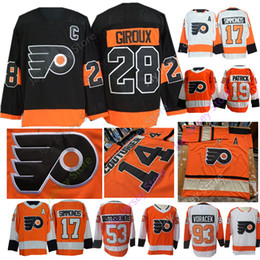 2c0e920e3 2019 Philadelphia Flyers Jerseys Konecny Wayne Simmonds Nolan Patrick  Claude Giroux Gostisbehere Jakub Voracek Women Youth Winter Classic