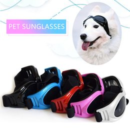 water proof coatings Australia - Nicrew New Attractive Pet Dog Sunglasses Multi-Color Fashionable Water-Proof Boom Pet Dog Cool Sunglasses Puppy Sunglasses