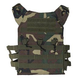 China 9 Colors Tactical Accessoris Body Armor JPC Plate Carrier Vest Ammo Magazine Chest Rig Paintball Gear Loading Bear Vests cheap body armor vests suppliers