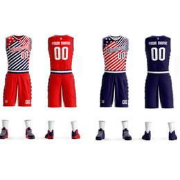 942b03a76484 2019Men Youth Allen Iverson Basketball Jersey Sets Uniform kits Adult  Sports shirts clothing Breathable basketball jerseys shorts DIY Custom