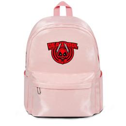 $enCountryForm.capitalKeyWord Australia - Package,backpack Deadpool Cartoon shape jump Knife pink outdoor Casualpackage adjustable yoga schoolbackpack