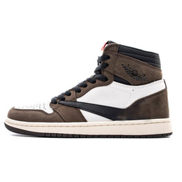 $enCountryForm.capitalKeyWord UK - 2019 Hot Sale 1:1 Quality And DHL Fast Shipping AJ 1 Travis Scott CD4487-100 Basketball Shoes