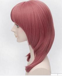 Maki nishikino cosplay online shopping - Wig Anime Love Live Character Nishikino Maki CM Watermelon Red Medium Long Cosplay Wigs Peruca