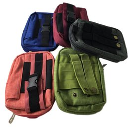 Man Gadgets Australia - Men belt waist pouch bag tactical backpack molle pocket edc tools outdoor gadgets phone storage small bag