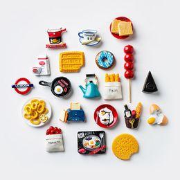 Personalidad creativa refrigerador magnético pasta de dibujos animados encantador frigorífico imanes Decoración 3D Paste magnético Decoración del hogar Regalos en venta