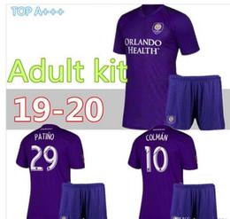 Orlando City Shirt Kaka Australia - 2019 Orlando City adult kit Home #10 KAKA Soccer Jersey 2020 #10 COLMAN #14 DWYER BOYS Soccer Shirt J.MENDEZ PATINO Football uniforms